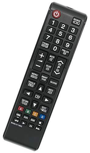 ALLIMITY BN59-01199G Fernbedienung Ersetzt für Samsung TV UE32J4500 UE32J4570 UE32J5200 UE32J5205 UE40J5200 UE40JU6000 UE40JU6050 UE43JU6060 UE48J5205 UE48JU6000 UE55JU6000 UE65JU6050