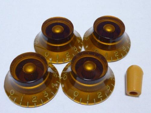 made-in-japanhigh-quality-bell-knobembossedambermetricset