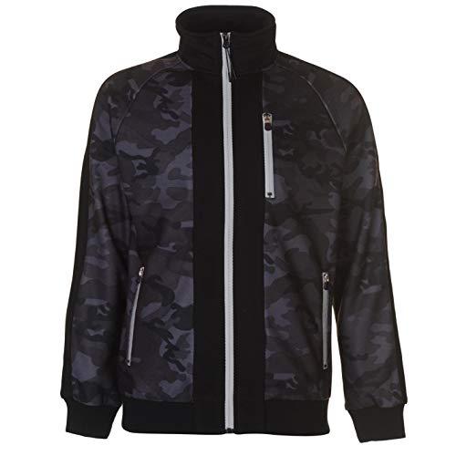 Everlast Premium Durchgehendem Reißverschluss Sweatshirt Herren Pullover Pullover - Blau, L -