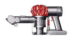 Dyson V6 Car & Boat Extra beutel- & kabelloser Staubsauger inkl. Extra-hart & -soft Bürste, motorisierter Mini-Elektrobürste & Fugendüse | Beutelloser Handstaubsauger mit Lithium-Ionen Akku