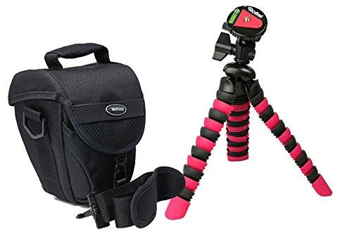 Progallio Reise-Set Foto-Tasche Typ COLT VANTAGE mit Marken Reise-Stativ Typ Rollei 300
