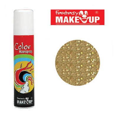 Hesse und Voormann - Glitter-Haar-Spray, 75ml, Glitter-Gold
