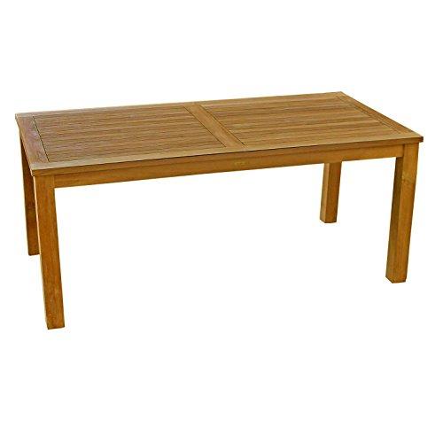 Avanti Trendstore - Bandung - Gartentisch aus Teak massiv, Maße: BHT ca. 150x75x90 cm