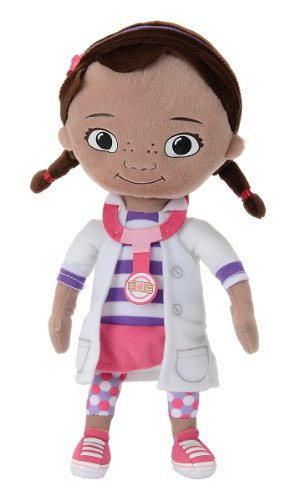 Simba 6315877368 - Disney Doc Mc Stuffin Plüsch 25 cm (Doc Mcstuffins)