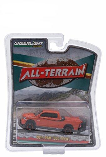 2014 Dodge Ram 1500 Sport Orange Pickup Truck
