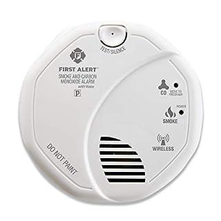 First Alert sco501cn-3st Kombination Rauch und Kohlenmonoxid Alarm mit Stimme Lage, batteriebetrieben