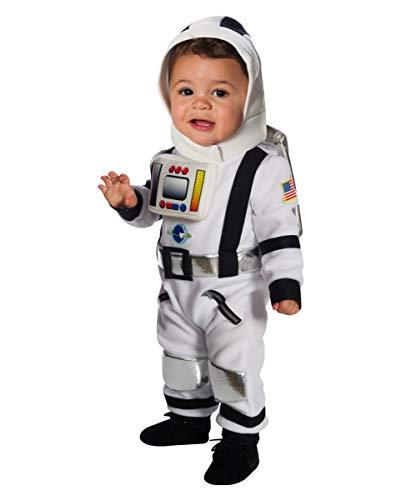 Kostüm Baby Astronaut - Horror-Shop Astronauten Kleinkinderkostüm für den Kinderfasching & Kostümparties im Kindergarten Kleinkind
