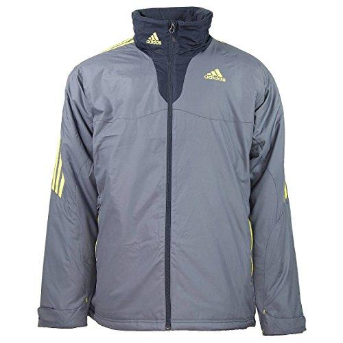 adidas Universal Allwetter Jacke M Herren grau, Bekleidungsgröße:M/L