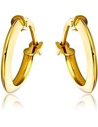 Miore Earrings Women Hoops Yellow Gold 9 Kt / 375