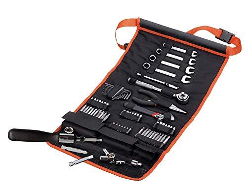 Black+Decker A7063 77-teiliges Mechaniker-Set, Werkzeug-Rolltasche