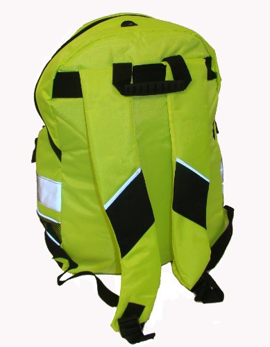 Euro Rucksack, Fahrradrucksack, Schulrucksack, in 3 leuchtenden Farben erhältlich - Hi Vis Yellow