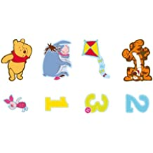 Decofun - Figuras de goma Winnie the Pooh x24