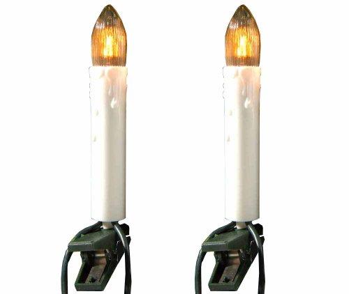 Ambientehome, Catena luminosa a LED con 16 lucine a forma di candela, da int
