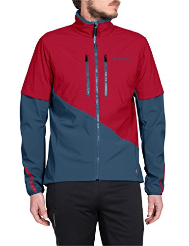 Vaude Herren Primasoft Jacket Jacke Indian Red/Blue