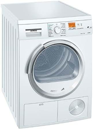 Siemens WT46S583FF Sèche Linge à Condensation 59,8 cm 8 kg Classe: N/C Blanc