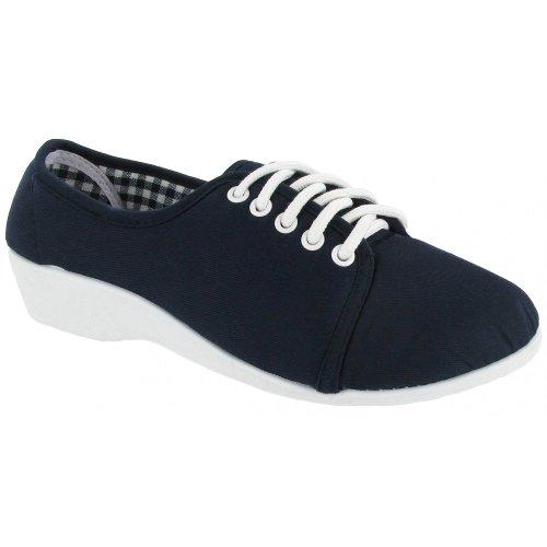 mirak-bounty-lace-up-canvas-womens-shoes-36-eur-navy