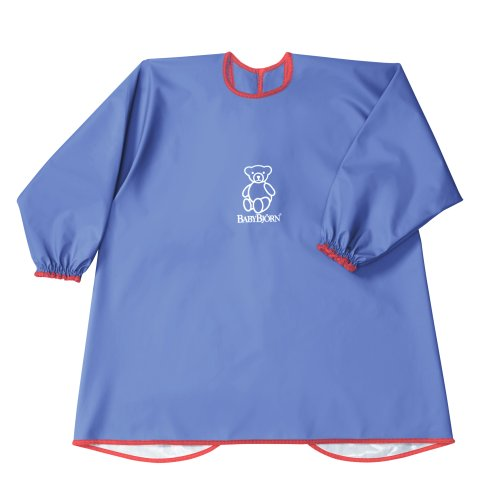 babybjorn-eat-play-smock-blue