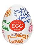 Tenga Egg Keith Haring Einweg-Masturbationsei Street, Hard Boiled