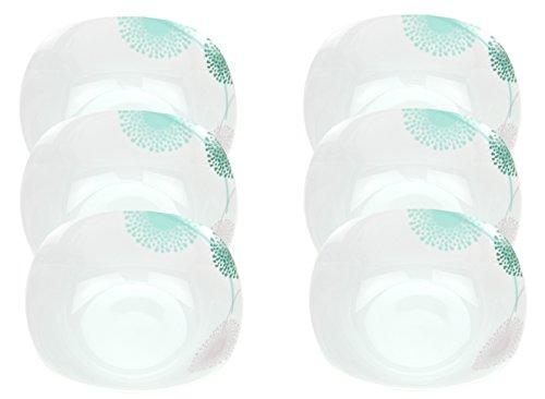 6er Set Müsli- Salatschale Modena Pusteblume 14cm