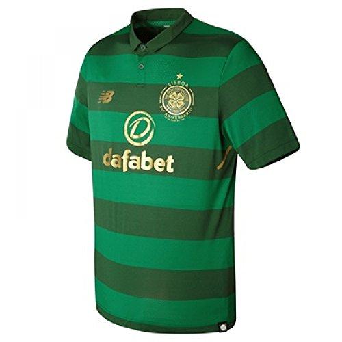 Celtic-FC-1718-Away-Elite-SS-Football-Shirt-Dark-Green-size-L