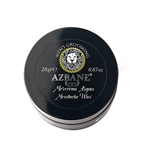 Azbane - Moustache Wax | Der premium Bart Wachs für einen perfekten Halt und glänzenden Look -