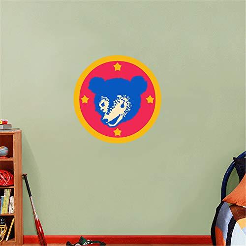 Wandtattoo Chicago Cubs MLB Logo Baseball Team Zeichen Wand Dekor Wand Dekor Aufkleber Aufkleber