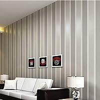 Lujo No Tejido Etiqueta de La Pared 3D Moderno Raya Vertical de Pared Rollo de Papel Universal Sala de estar Decoración Del Hogar Herramienta