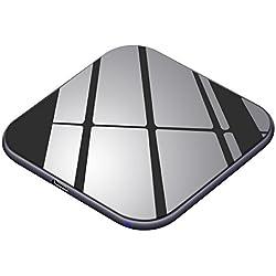 Chargeur sans fil Te-Rich 15W Chargeur à Induction [USB C] 7.5W Station de Charge sans fil Qi pour iPhone XS/XS Max/XR/X/8+/8, 10W Charge Rapide pour Galaxy S10 S10+ S9 S9+ S8 S8+ S7 S7 Edge Note 8/5