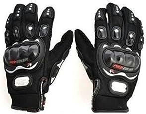 Autofurnish AF968 Fabric Gloves (Black, XL)