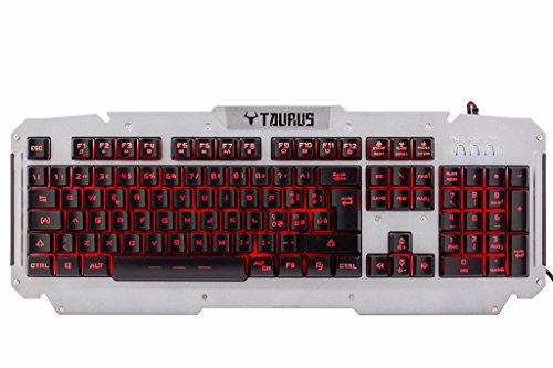 itek-taurus-t21-usb-qwerty-inglese-italiano-acciaio-inossidabile