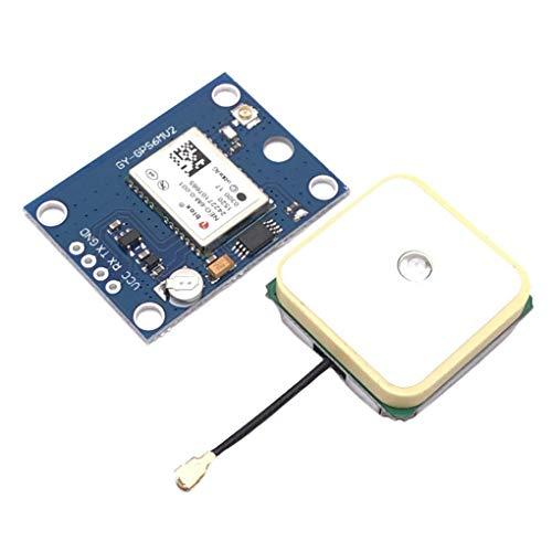 F-blue NEO-6M GPS-Modul EEPROM Kompatibel für MWC/AeroQuad Antenne Kompatibel für Arduino Flight Control Aircraft
