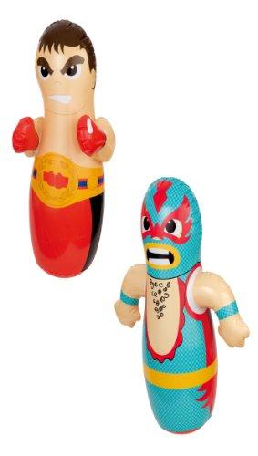 Intex 44672NP Personaggio Gonfiabili 3D, Boxer/Lottatore, 1 pezzo, modeli assortiti
