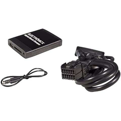 Adattatore Interfaccia MP3 USB SD AUX Vivavoce Bluetooth Ford 12 Pin 4050 RDS, 4500, 4600 CDR, 5000 RDS,