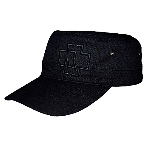 Rammstein Army Cap Outline Logo schwarz, Offizielles Band Merchandise