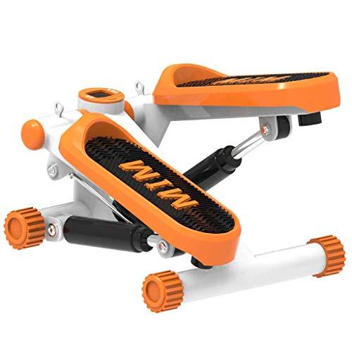 Mini Einstellbare Twist Stepper Maschinen Fitness Elliptische Maschine Stepper Multifunktions Fußmaschine Bequem für Fitnessgeräte Zuhause Roscloud@