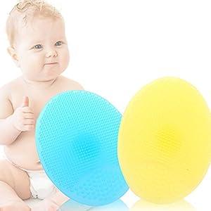 Hemore Baby Haar Körper-Badebürste, 1 Stück, Tiptop Duschgel Kopfhaut Schrubber, Shampoo Kopfhaut Bürste, vielseitig verwendbar, weiche Massagebürste Babydusche Spielzeug