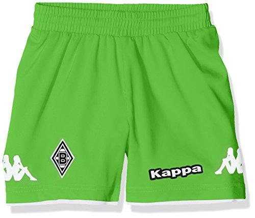 Kappa Kinder Borussia Mönchengladbach Trikot Short, 304 Classic Green, 140