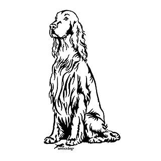 amberdog Autoaufkleber Irish Setter Art.Nr.AT0147, Aufkleber Hunde
