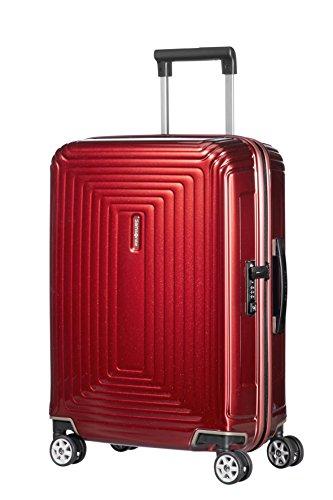 Samsonite Neopulse - Spinner S (Breite: 23 cm) Handgepäck, 55 cm, 44 L, rot (Metallic Red)
