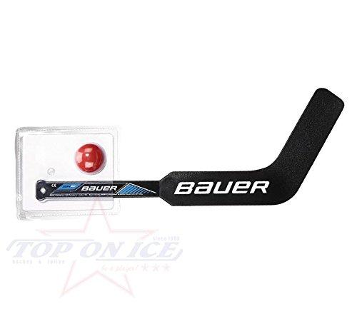 Mini-stick-hockey-set (Bauer Mini Ziel Stick Set, schwarz)