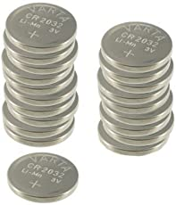 Varta CR2032 Lithium pila a bottone, 230mAh 3V (20 pezzi)