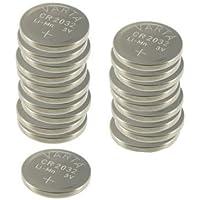 VARTA pile bouton lithium CR2032, 3,0 Volt, 230 mAh - Pack de 20