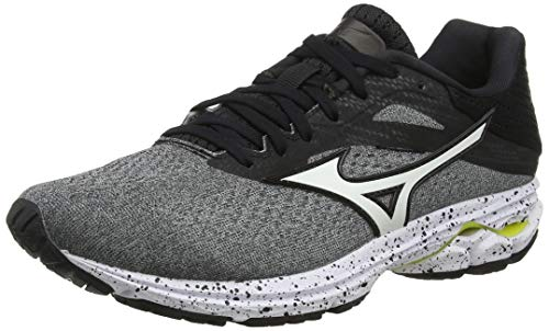 Mizuno Wave Rider 23, Zapatillas de Running para Hombre, Grey (Glaciergray/White/Black 72), 43 EU