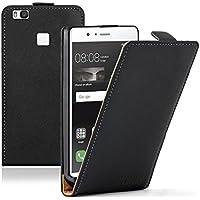 Membrane Huawei P9 Lite Custodia Ultra Slim Nero PU Pelle Flip Protettivo Case Cover