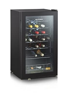 Severin KS 9894 - wine coolers (Undercounter, Black, 7 - 18 °C, SN, No, A, Black) from Severin