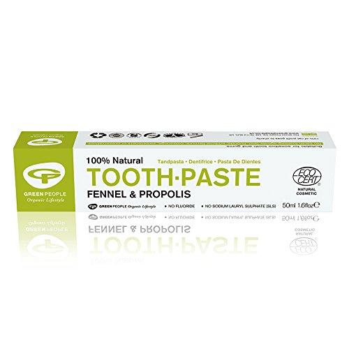 empfindliche zaehne homoeopathie Organic Fennel Toothpaste NV - 50ml