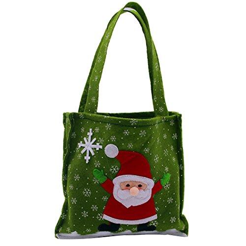 Coafit Geschenk-Taschen Weihnachtsschneemann Santa Candy Bag FüR Kinder