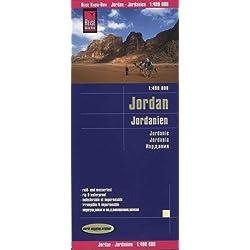 Reise Know-How Landkarte Jordanien (1:400.000): world mapping project, reiß- und wasserfest