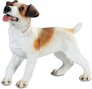 Grande Statuette chien Jack russel - 34 cm