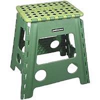 Farbe : Green Tritthocker F/ür Erwachsene Faltbare Silod Holz Tragbare Kinder Multifunktionsbank